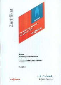 Viessmann Zertifikat2